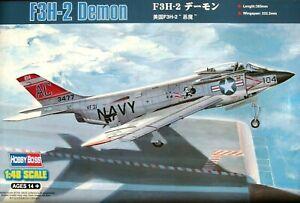 Hobbyboss 1:48 F3H-2 Demon AIRCRAFT MODEL KIT