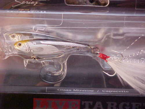 "New Koppers 2 1//2/"" Live Target BaitBall Glass Minnow Surface Popper GFP65T951"