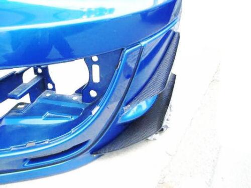 PH~ 4Pcs//Set Front Bumper Canard For Subaru Impreza 02-05 Carbon Fiber GDB