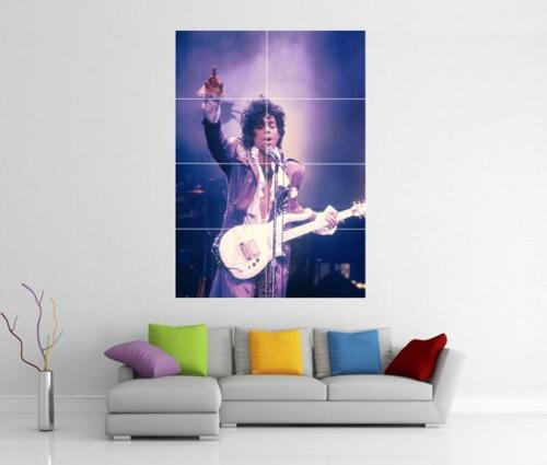 PRINCE PURPLE RAIN LIVE SYMBOL MUSICOLGY GIANT WALL ART PICTURE PRINT POSTER