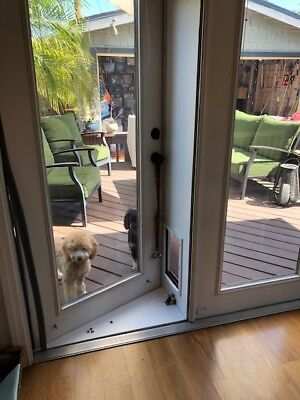 Pet Door For French Doors In Or Out Products Extra Large Ebay