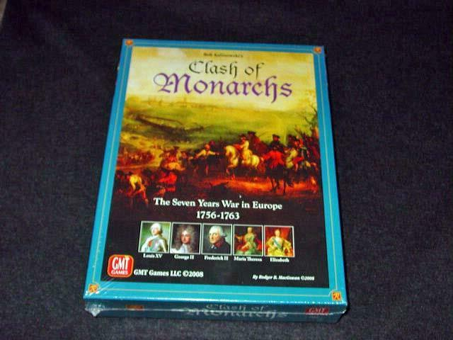 GMT GAMES 2008 - CLASH OF MONARCHS - The Seven Years War in Europe (SEALED)
