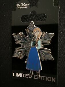 Disney WDI Frozen Stained Glass Character Snowflake LE 300 Pin Princess Anna