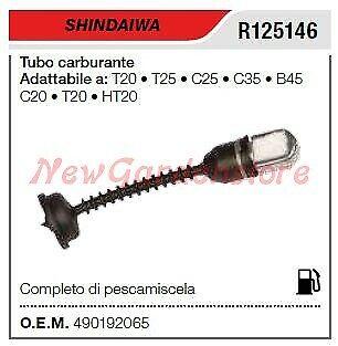 Tubo carburante SHINDAIWA decespugliatore T20 T25 R125146
