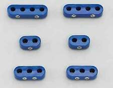 Taylor 42769 Blue 10.4 MM spark plug wire separators 6 Pack
