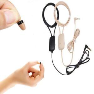 Mini-Kopfhoerer-Induktives-Spy-Headset-mit-3-5mm-Klinkenstecker-Spion-Hoerer-A208