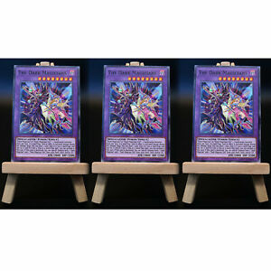 Yugioh-PROXY-3x-Playset-The-Dark-Magicians-Seelendiener-Card-Orica-Custom