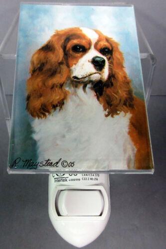 New Cavalier King Charles Spaniel Dog Night Light Dogs Pet Ruth Maystead KCS-2NL