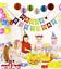 Grand-19x15CM-Joyeux-Anniversaire-Bunting-Banniere-Pastel-Hanging-lettres-Party-Decor miniature 2