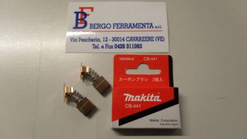 Coppia spazzole carboncini ricambio MAKITA CB-441 7x11x11 mm con molla