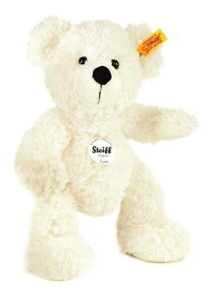 Steiff Lotte Teddy Bear, 28 cm, White