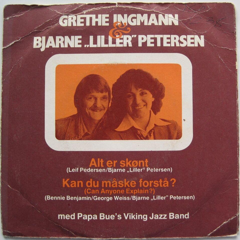 "Single, Grethe Ingmann, Bjarne ""Liller"" Petersen"