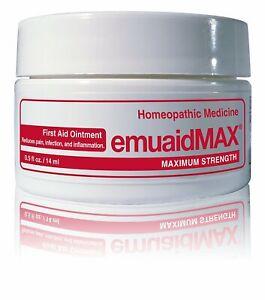 0.5oz 14ml EMUAID Max Emuaidmax First Aid Anti-fungal Ointment Natural Post