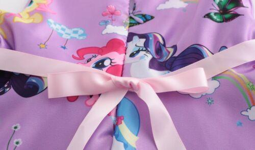 Girls  Kids My Little Pony Butterfly Pink Puple Party Birthday Fancy Dress