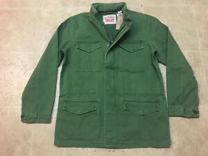 New-Men-039-s-Levi-039-s-Military-Style-Field-Jacket-M65-Army-Men-039-s-Sizes-S-M-L