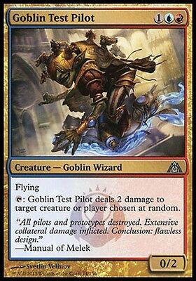 074 Dragon/'s Maze Mtg x4 4x DGM Magic Goblin Test Pilot