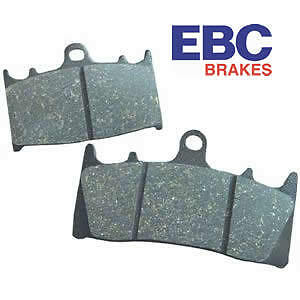 Rear EBC//FA629 Brake Pads - Honda CBR125 11-15 MSX125 Grom 13-16