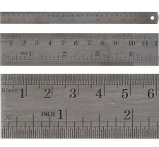 Präzisionsmaßstab STEINLE INOX flexibel 500 mm Stahlmaßstab Querschnitt:13x0,5mm
