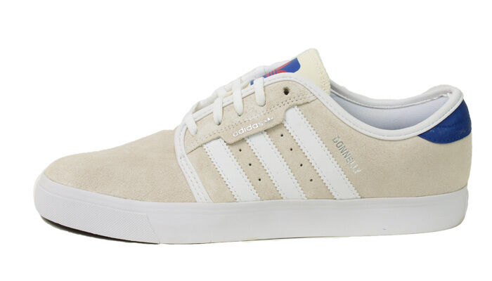 Adidas SEELEY Blanc Cream Royal C76062 (303) Skateboarding Homme Chaussures