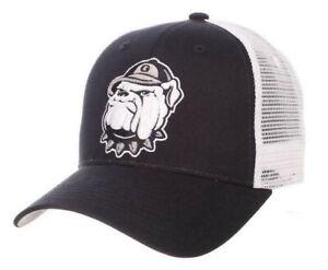 GEORGETOWN HOYAS NCAA STRUCTURED TRUCKER 2-TONE SNAPBACK ZEPHYR CAP HAT NWT!