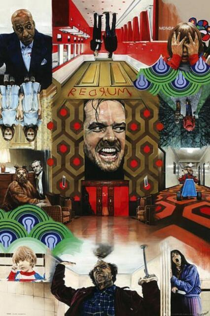 Paul Stein : The Shining - Maxi-Poster 61cm x 91.5cm New and sealed