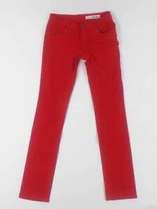 Zip Milk Original Jeans 5 Bukser Black Red Tube Five Pocket Cw5zqHwf