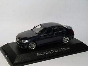 Mercedes-Benz-Classe-C-berline-W205-facelift-2018-au-1-43-de-NOREV
