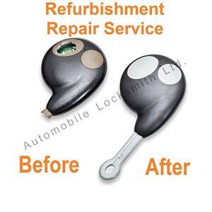 Repair Service for Cobra 7777 2 button remote alarm key fob refurbishment