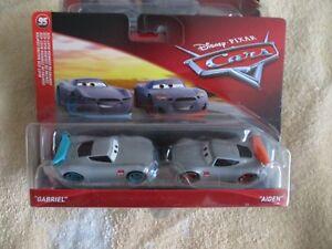 Disney Pixar Cars 3 Gabriel Aiden New Generation 2 Pack Rust Ez