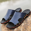 New-Summer-Beach-Mens-Casual-Leather-Sandals-Shoes-Outdoor-Anti-slip-Slippers thumbnail 15