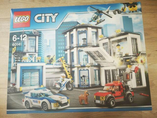 LEGO CITY 60141 Commissariat de Police NEUF SCELLE (photos)