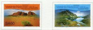 19436A-UNITED-NATIONS-Vienna-1999-MNH-Australia-2v