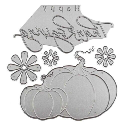 Thanksgiving Day Metal Cutting Dies Halloween Pumpkin Scrapbook DIY OhVWw Top