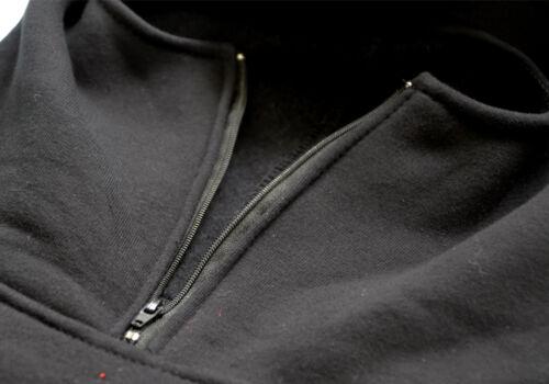 Sweatshirt Bluse Hoodie Bluza Casual Ninja Mask Balaclava Hooligans Ultras Black
