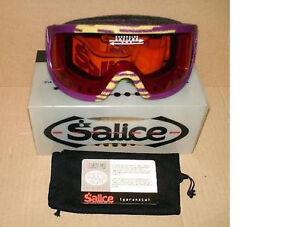 Salice Nuovi Occhiale Mascherina Moto Sci Per A Antifog Crx Marca aarqYg