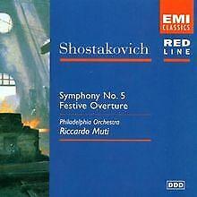 Red Line - Schostakowitsch (Orchesterwerke) von Muti,Ricca... | CD | Zustand gut