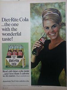 1967-Diet-Rite-Sugar-Free-Cola-Soda-Tanya-Morgan-Ballet-Dancer-Ad