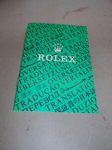 Rolex-Oyster-Translation-Booklet-Vintage