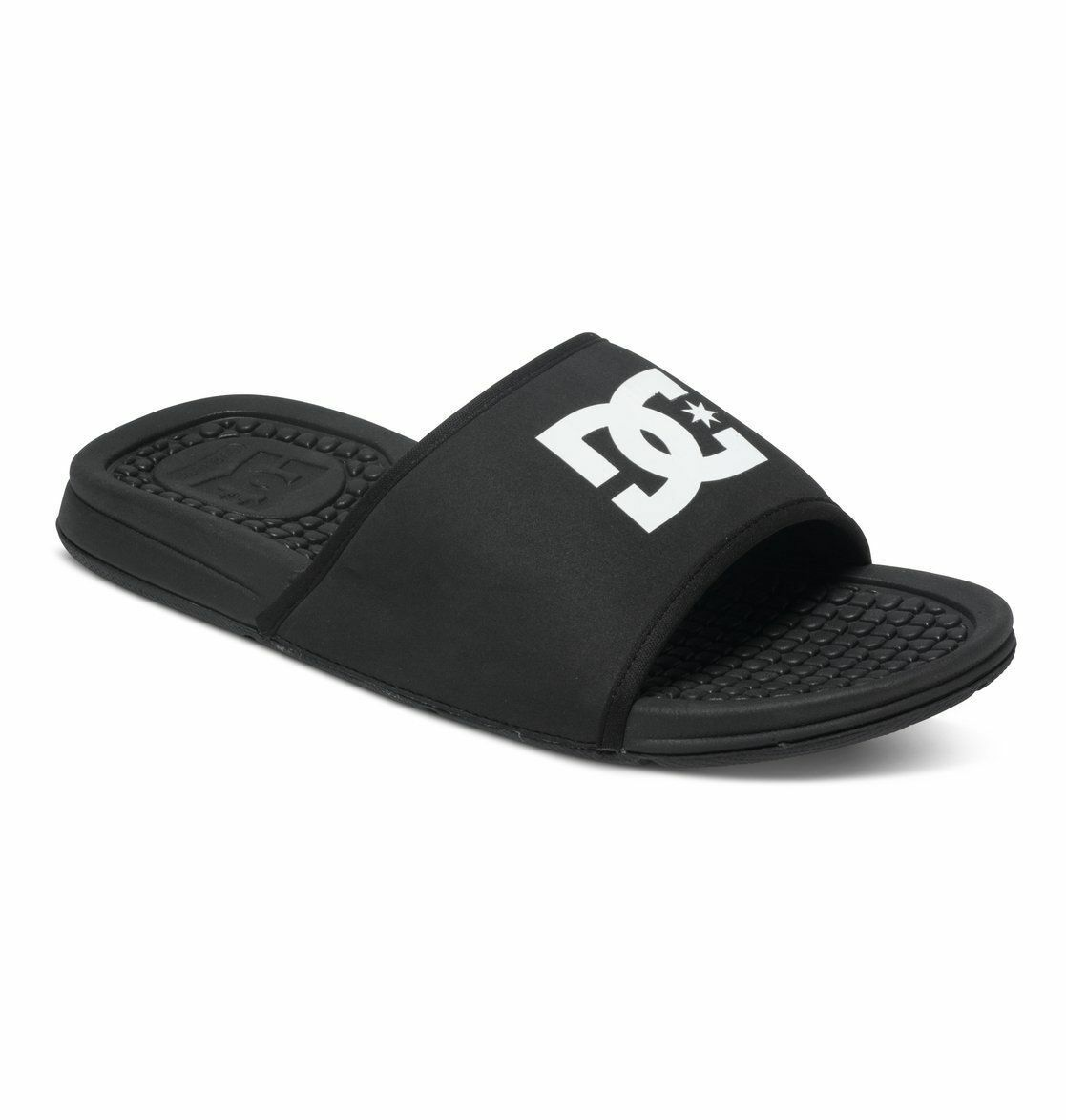 DC Bolsa (black/white) Sandals Slipper Slides Men Free Free Men Shipping 0c3bb7
