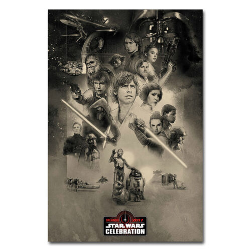 The Last Jedi Movie Art Silk Cloth poster 13x20 24x36 inch 015 Star Wars