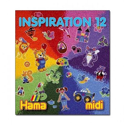 HAMA midi 399-12 Bügelperlen INSPIRATION 12 Vorlagen-Heft mit Ideen