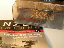 Sturmmörser Dt. 1945  1:72  No 17 Panzersammlung