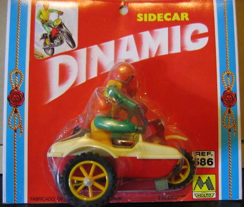 MOTO SIDECAR SIDE CAR DINAMIC MOLTO