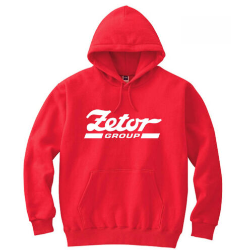 XXL Zetor Proxima Tractor Red Crystal Heavyweight Hoodie Sweat New All Sizes S