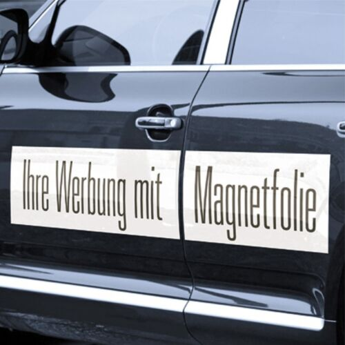 Magnetfolie KFZ-Verwendung Werbung Folie 0,85 mm Permaflex 15m x 61,5 cm