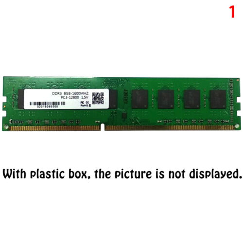 8GB DDR3 1600MHz 240pin 1.5V DIMM RAM Desktop Memory Supports Dual Channels CO
