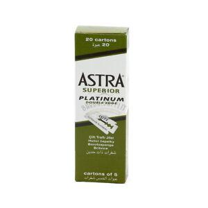 Astra-Lame-Super-Platinum-da-Barba-per-Rasoi-Uomo-Professionale-100-Lamette