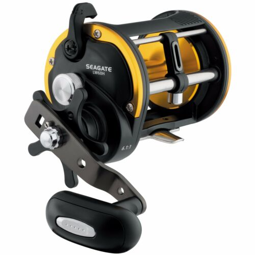 SGTLW60H Daiwa Seagate Levelwind 6.1:1 Right Hand Saltwater Fishing Reel 60H