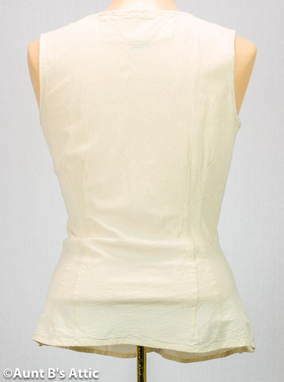 Renaissance BlauSE Damen Ärmellos Ärmellos Ärmellos Ecru Baumwolle Geschnürt Vorne Kostüm BlauSE     | Neuankömmling  | Wir haben von unseren Kunden Lob erhalten.  | Leicht zu reinigende Oberfläche  | Sale Online  | Schöne Farbe  662712