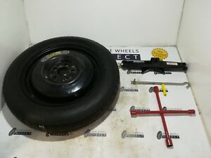 Jack RoadHero for Nissan Pulsar 14-16 Space Saver Spare Wheel /& Tyre
